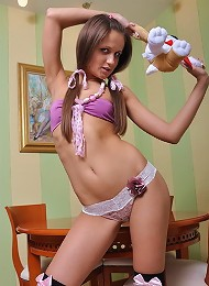 Horny teen wants you to play with her